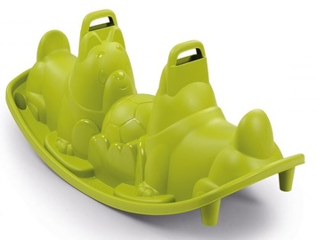 Šūpoles Smoby Dogs Rocker 830201, zaļa