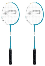 Spokey Fit One Badminton Racket Set Blue