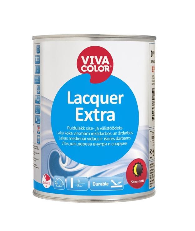 Pusiau matinis lakas Vivacolor Lacquer Extra, 0.9 l