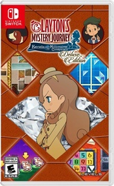 Layton's Mystery Journey Katrielle and the Millionaires' Conspiracy Deluxe Edition SWITCH