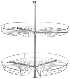 Bodzio Kitchen Corner Cabinet Swivel Basket