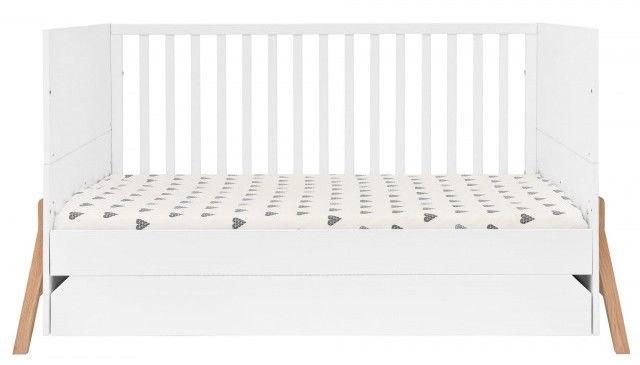 Vaikiška lova Bellamy Lotta 2 White, 161x75 cm