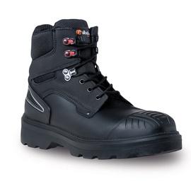 Vyriški pašiltinti apsauginiai batai Alba&N, su aulu, 45 dydis