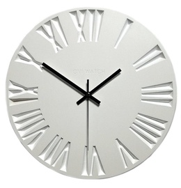OVi Watch Wooden Wall Clock 30cm x 30cm White