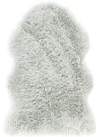 AmeliaHome Dokka Rug Sheepskin 75x150 Grey