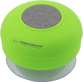 Belaidė kolonėlė Esperanza EP124G Bluetooth Speaker Green
