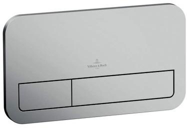 Villeroy & Boch ViConnect skalošanas taustiņš E200 253x145mm Matēts hroms, 92249069
