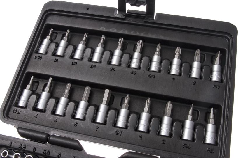 Muciņu komplekts Forte Tools 216006/8303 1/4 4-14mm, 51gab.