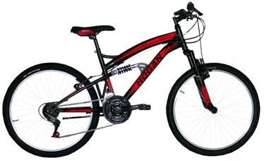 Henry Hogan MTB Full Susp 24'' Black/Red