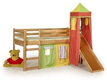 Vaikiška lova Flo alksnio spalvos, 80 x 190 cm