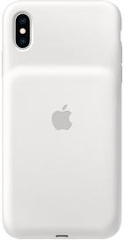Ümbris Apple Smart Battery Case for Apple iPhone XS Ma, valge (kahjustatud pakend)