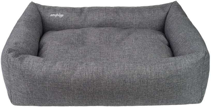 Кровать для животных Amiplay Palermo, серый, 580x460 мм