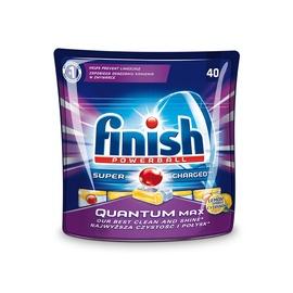 Tabletės indaplovėms Finish Quantum Max, 40 vnt.