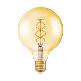Osram LED Bulb Vintage 1906 Globe E27 4.5W 250lm Dimmable