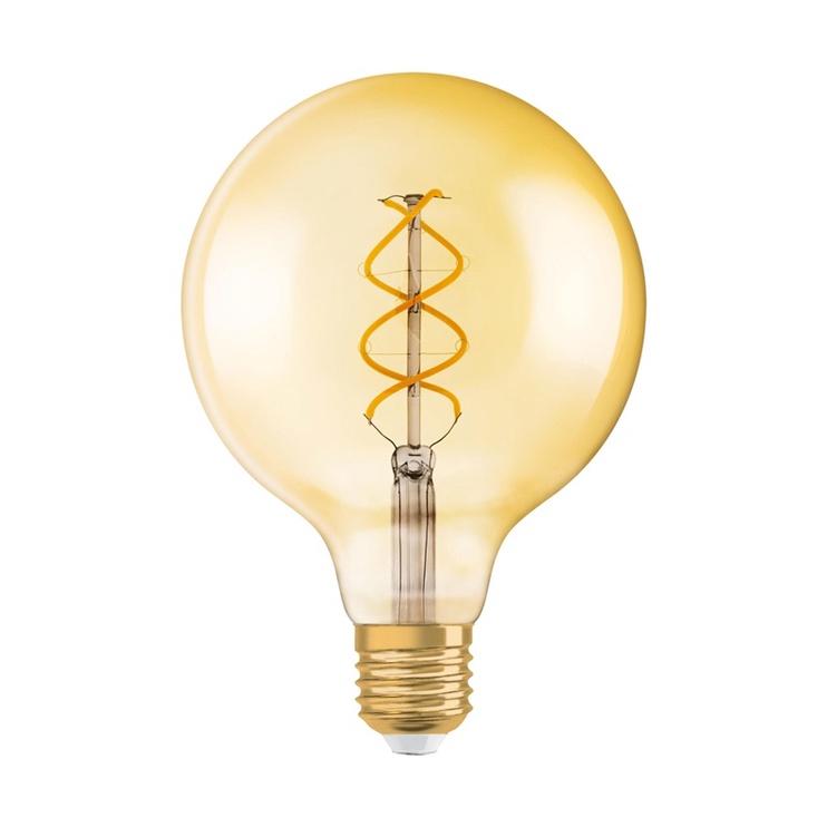 Led lamp Osram 1906 Globe 4,5W, E27, 2000K dim