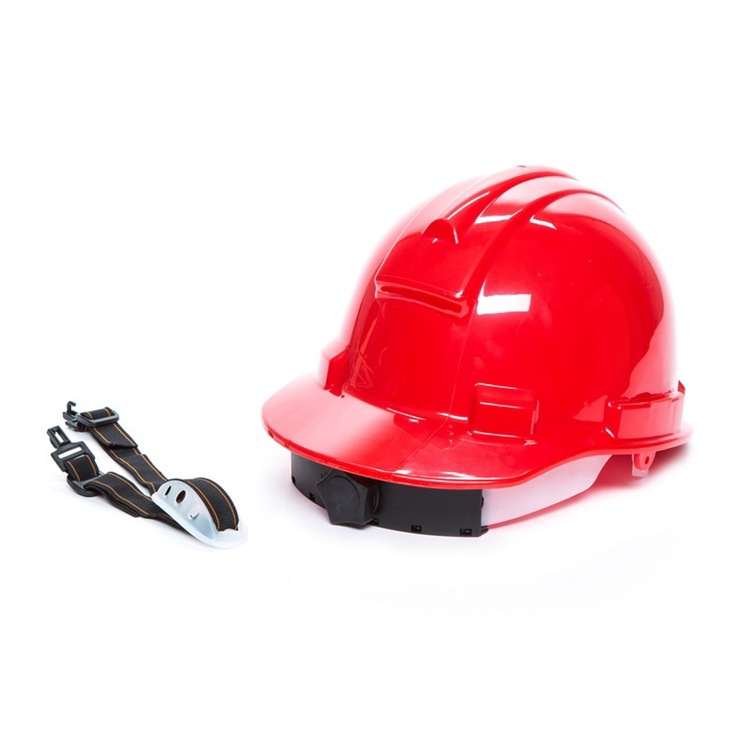 3M Safety Helmet M Red