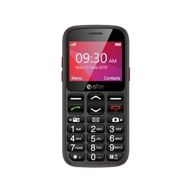 Мобильный телефон eSTAR S23 Senior, черный