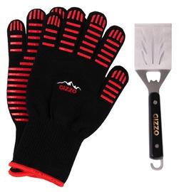 Gizzo BBQ Gloves + Spatula