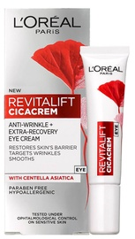 L´Oreal Paris Revitalift Cica Cream Anti Aging & Repairing Eye Cream Under The Eyes 15ml
