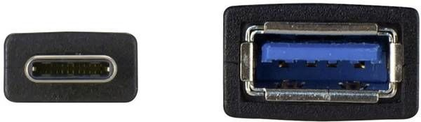 HP USB 3.0 To USB-C Adapter 0.1m Black