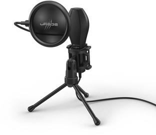 Микрофон Hama uRage Stream 400 Plus, черный