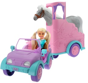 Sparkle Girlz Jeep With Horse Trailer 24507