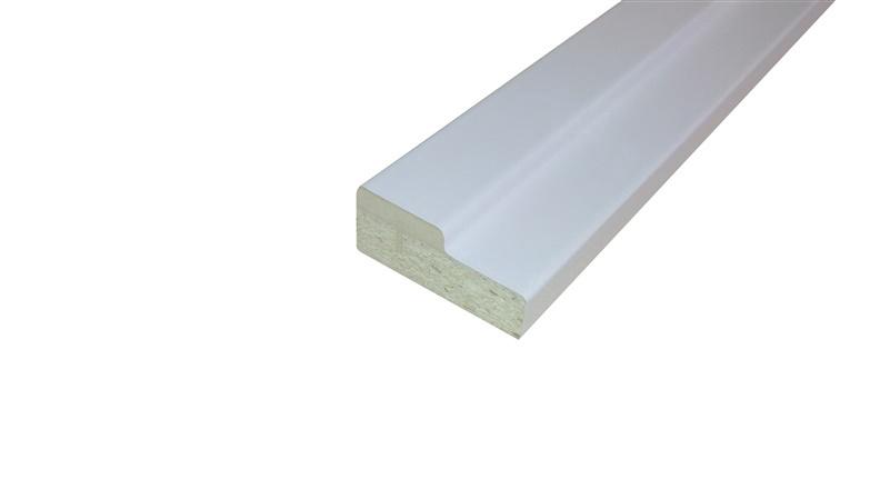 Ukselengide komplekt, 825x75 mm, valge