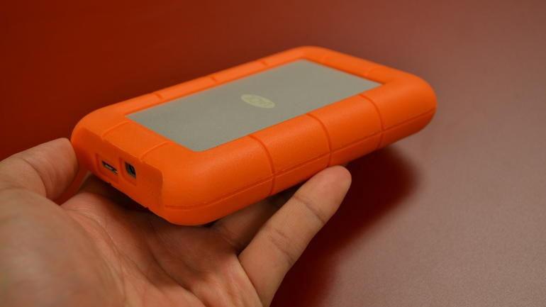 LaCie 2TB Rugged V2 2.5'' Thunderbolt USB 3.0