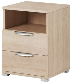 WIPMEB Naka 2S Bedside Table Sonoma Oak