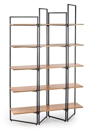Halmar Reg 14 Shelf Oak/Black