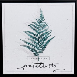 Home4you Print Picture Nature 40x40cm Fern Positivity