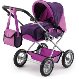 Тележка Bayer Combi Grande Dolls Pram Purple