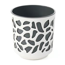 Вазон SN Duet Indoor Plant Pot 19.5x20cm White Grey