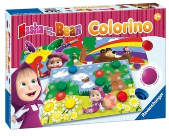 Ravensburger Colorino Masha And Bear 21192