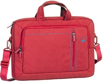 Rivacase, Canvas Shoulder Bag 15.6'' Red