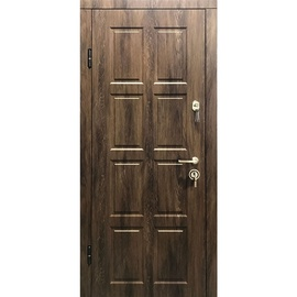 Plieninės vidaus durys Elegant 205, kairinės, 86x205 cm