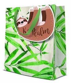 Paw Decor Collection Gift Bag Keep Calm 20x10x25cm