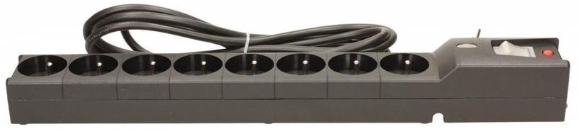 Lestar LXA 816 Surge Protector 8 Outlet Black 3m