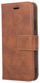 Forever Classic Leather Book Case For Apple iPhone XS Max Brown