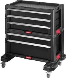 5 stalčių įrankių spintelė su ratukais 56.2X28.9X50.2cm