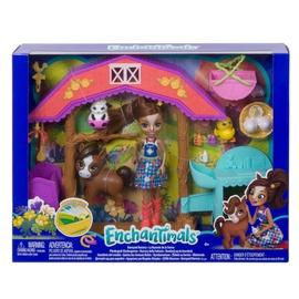 Žaislinė Enchantimals gyvūnėlių ferma gjx23