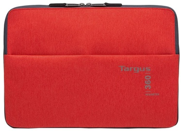 "Targus 360 Perimeter Laptop Sleeve 15.6"" Red"