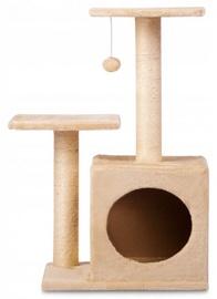 Когтеточка для кошек, 70см, бежевая