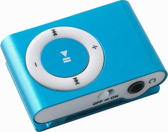 Музыкальный проигрыватель Setty Super Compact GSM024740 Blue, 0 ГБ