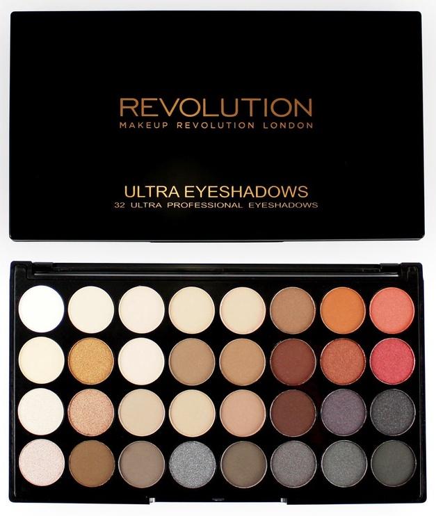 Makeup Revolution London Ultra 32 Shade Eyeshadow Palette 20g Flawless 2