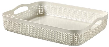 Curver Basket Knit A4 35x27x7cm White