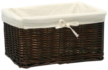 Home4you	Basket Max 37x29x19cm Dark Brown