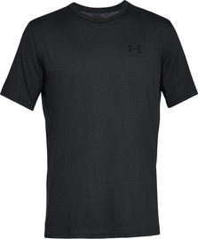 Särk Under Armour Mens Sportstyle Left Chest SS Shirt 1326799-001 Black M