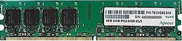 Apacer 2GB 667MHz DDR2 CL5 AU02GE667C5NBGC