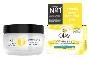 Olay Complete Sensitive Day Cream SPF15 50ml